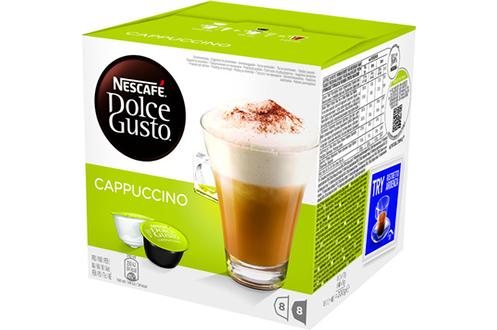 Capsule café Dolce Gusto CAPPUCCINO