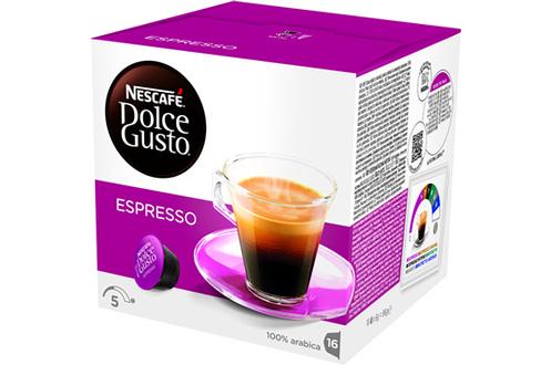 Capsule café Dolce Gusto ESPRESSO