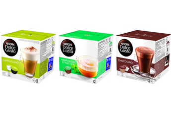 Capsule café GOURMANDS X3 Dolce Gusto