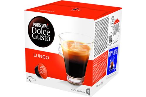Capsule café Dolce Gusto LUNGO