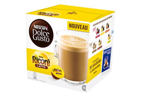 Capsule café Dolce Gusto RICORE LATTE