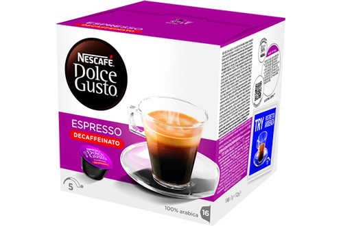 Capsule café Dolce Gusto ESPRESSO DECAFFEINATO