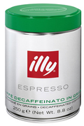 Illy GRAIN DECAFEINE 250G