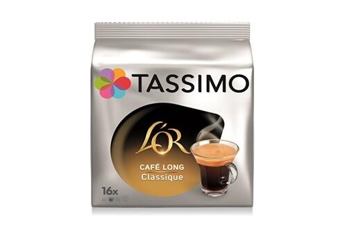 Dosette café Tassimo Tassimo L'Or Café Long Classique x16