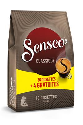 Dosette café Senseo CLASSIQUE 36+4