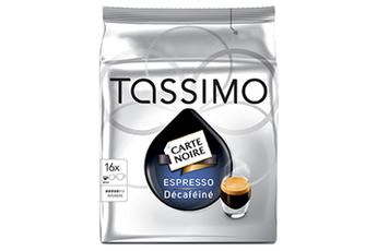 Dosette café DOSETTES CARTE NOIRE EXPRESSO DECAFEINE Tassimo