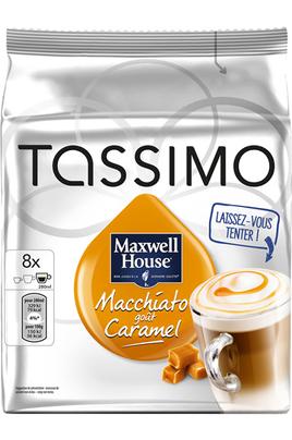 Dosette café Tassimo DOSETTES MACCHIATO CARAMEL