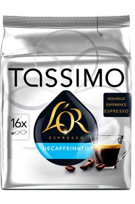 Dosette café Tassimo DOSETTES L'OR DECAFFEINATO