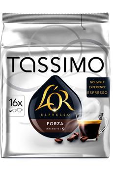 Dosette café DOSETTES OR ESPRESSO FORZA Tassimo