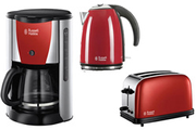 Russell Hobbs set 3 pièces rouge flamboyant