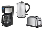 Russell Hobbs CAFETIERE + GRILLE PAIN + BOUILLOIRE CHESTER