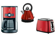 Russell Hobbs CAFETIERE + GRILLE PAIN + BOUILLOIRE COTTAGE
