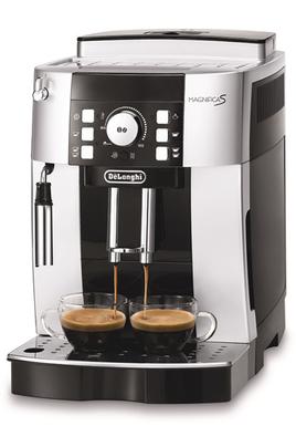 Pression 15 bar - Café en grains ou moulu 13 niveaux de finesse de mouture réglables Rinçage et détartrage automatiques Système cappuccino - Réservoir amovible
