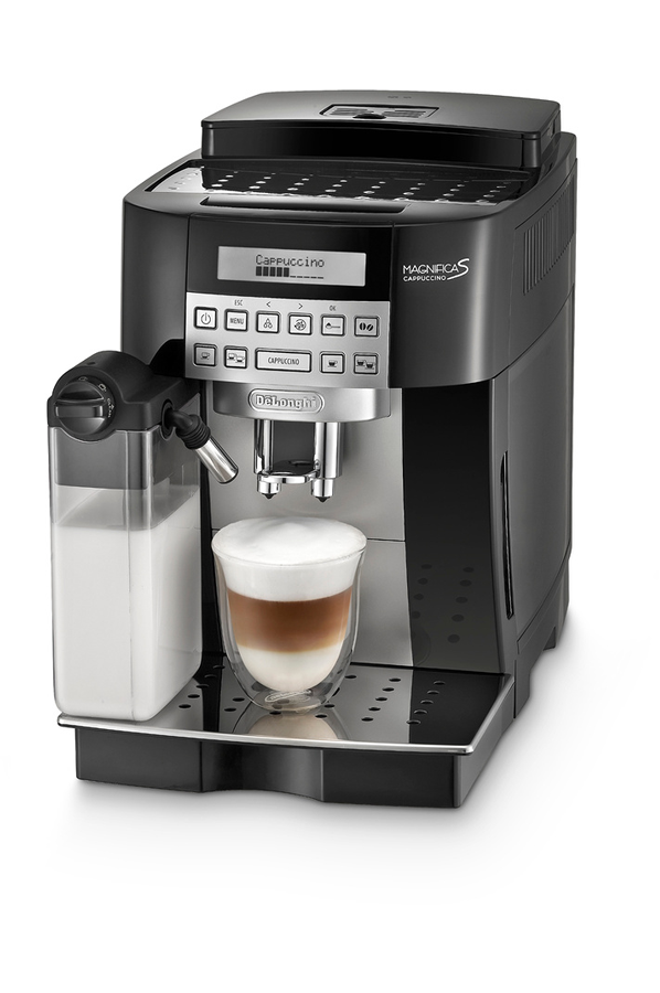 expresso avec broyeur delonghi magnifica s cappuccino 4281268 darty. Black Bedroom Furniture Sets. Home Design Ideas