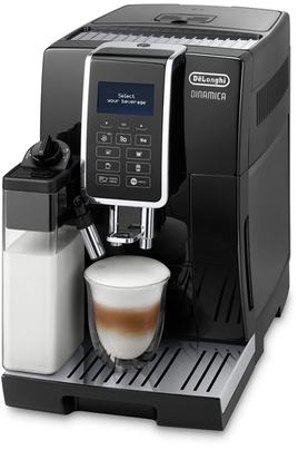 4 boissons en accès direct (Espresso, café, Cappuccino, LatteMacchiato) Réservoir à grains de 300g et réservoir à eau de 1,8L Panneau de contrôle intuitif soft touch avec écran LCD 6 recettes café et 5 lactées