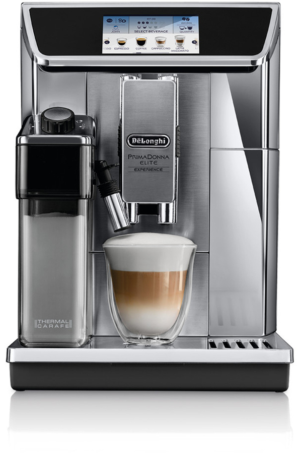 expresso avec broyeur delonghi delonghi ecam primadonna elite experience darty. Black Bedroom Furniture Sets. Home Design Ideas
