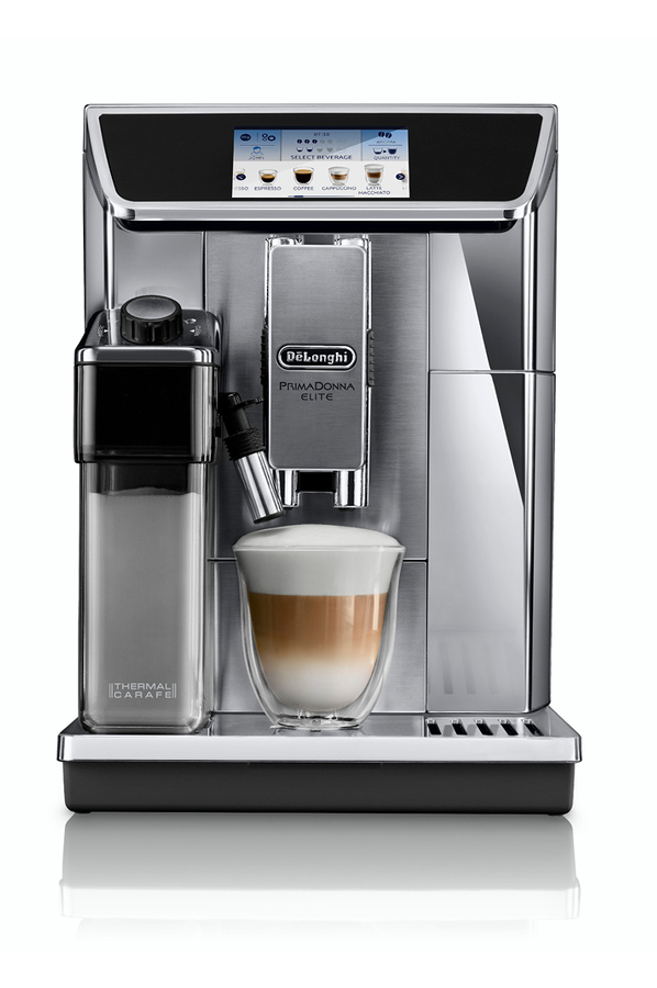 expresso avec broyeur delonghi ecam primadonna elite ecam 4184165 darty. Black Bedroom Furniture Sets. Home Design Ideas