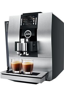 Pression 15 bars - Café en grain ou moulu Réservoir à grain 280 grammes Réservoir à eau 2.4 litres Rinçage et détartrage automatiques
