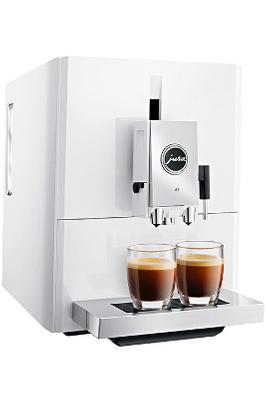 Pression 15 bars - Café en grains ou moulu Fonction One Touch - Température réglable Programmes de nettoyage, rinçage et détartrage automatique Ecran LCD - Cartouche filtrante