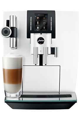 Expresso broyeur connecté - Pression 15 bar - Café en grains ou moulu 13 spécialités café et lait - Cartouche filtrante Programmes de nettoyage : rinçage et détartrage automatique Application Jura Coffee disponible
