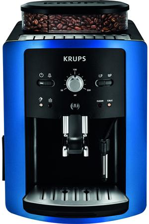 expresso avec broyeur krups ea800410 full auto compact manuel bleu velvet ea800410 darty. Black Bedroom Furniture Sets. Home Design Ideas
