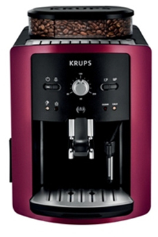 Expresso avec broyeur EA800R10 FULL AUTO COMPACT MANUEL ROUGE GAMAY Krups