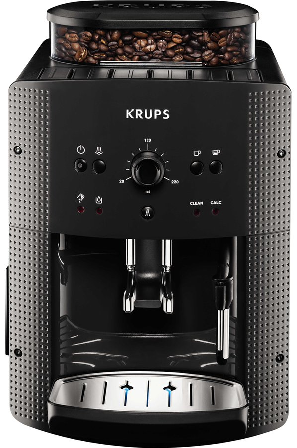 expresso avec broyeur krups ea810b70 full auto compact. Black Bedroom Furniture Sets. Home Design Ideas