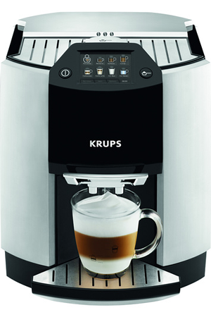 expresso avec broyeur krups yy8124fd full auto barista. Black Bedroom Furniture Sets. Home Design Ideas