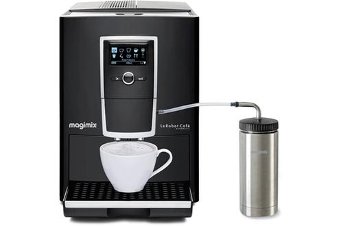 expresso avec broyeur magimix 11493 robot caf automatic. Black Bedroom Furniture Sets. Home Design Ideas