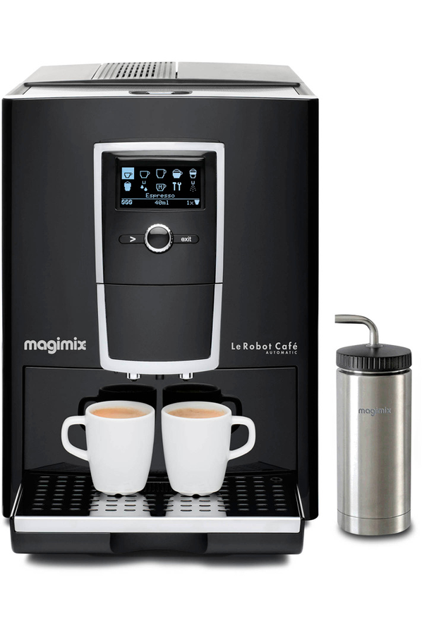 expresso avec broyeur magimix 11493 robot caf automatic. Black Bedroom Furniture Sets. Home Design Ideas