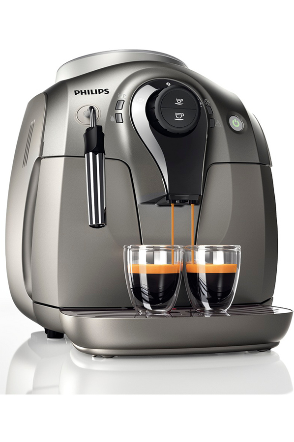 expresso avec broyeur philips hd8651 41 expresso automatique series 2000 chrome philips hd8651. Black Bedroom Furniture Sets. Home Design Ideas