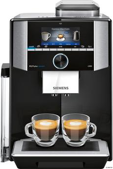 Pression 19 bars - Café en grain ou moulu - Connectée Ecran tactile TFT couleur - Réservoir à eau 2,3 L Mode Barista - 6 profils utilisateurs Application HomeConnect disponible
