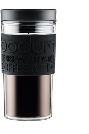 mug isotherme bodum mug isotherme travel plastique noir darty. Black Bedroom Furniture Sets. Home Design Ideas
