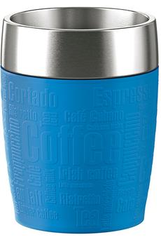 Mug isotherme TRAVEL CUP 0,2L INOX/BLEU D'EAU Emsa