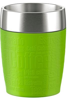 Mug isotherme Emsa TRAVEL CUP 0,2L INOX/LIME