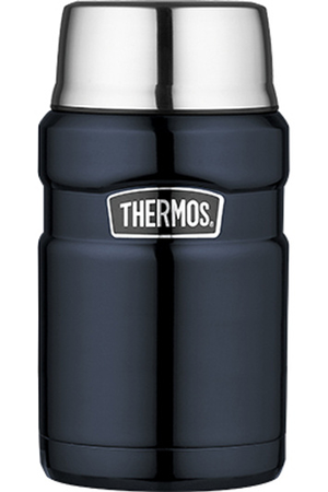 mug isotherme thermos king porte aliment bleu 710 ml darty. Black Bedroom Furniture Sets. Home Design Ideas