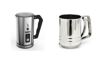 Pack accessoires café Emulsionneur à lait + Tamis Dolce Chef Bialetti