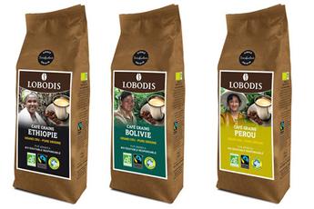 Pack accessoires café ETHIOPIE+PEROU+BOLIVIE Lobodis