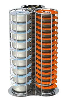 Porte-capsules CAPSTORE GIRO Tavola Swiss