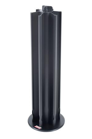 Porte capsules tavola swiss porte capsules alu 60 noir darty for Porte alu noir