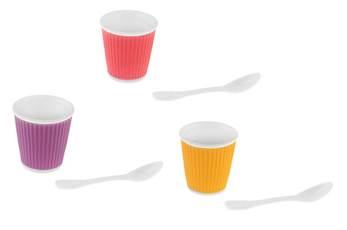 Tasse TASSE 10 CL VIOLET + ROSE + ORANGE Les Artistes