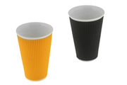 Les Artistes TASSE 30 CL ORANGE + NOIR
