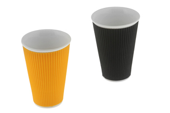Tasse TASSE 30 CL ORANGE + NOIR Les Artistes