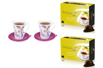 Thé SET TASSES SPÉCIAL T et THE EARL GREY Special.t By Nestle