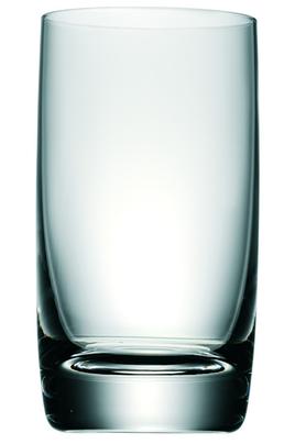 Coffret de 6 verres Verre trempé Traité contre les rayures et les brisures Compatible au lave-vaisselle
