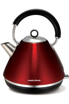 Bouilloire M102004EE Accents Refresh ROUGE Morphy Richards
