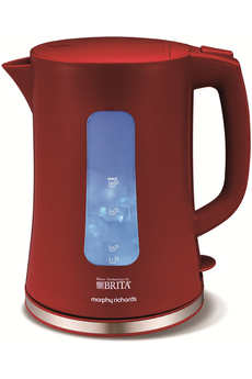 Bouilloire M120007EE BRITA ROUGE Morphy Richards