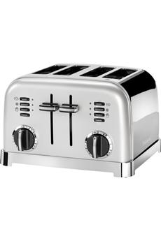 Grille pain Cuisinart CPT180SE Gris Perle