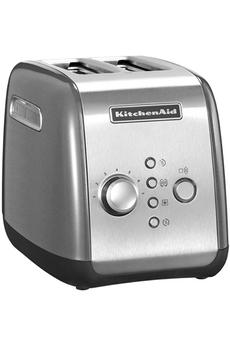 Grille pain 5KMT221ECU GRIS ARGENT Kitchenaid