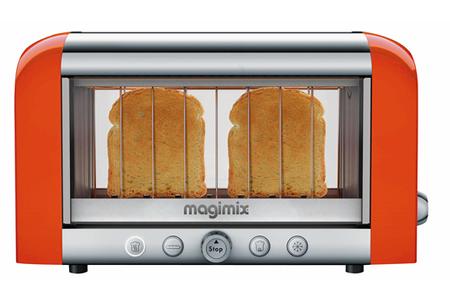 grille pain magimix 11530 vision orange darty. Black Bedroom Furniture Sets. Home Design Ideas